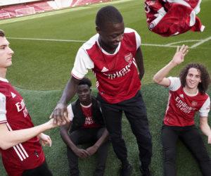 adidas dévoile le nouveau maillot domicile d'Arsenal pour la saison 2020-2021