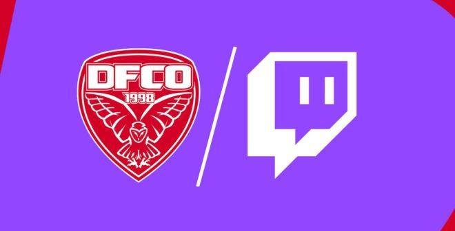 Dijon Football Côte-d'Or (DFCO) va diffuser deux matchs amicaux sur Twitch