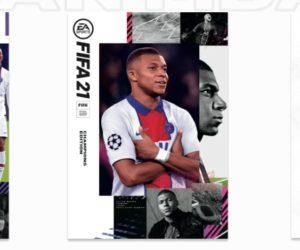 EA SPORTS mise sur Kylian Mbappé pour les jaquettes du prochain jeu vidéo FIFA 21
