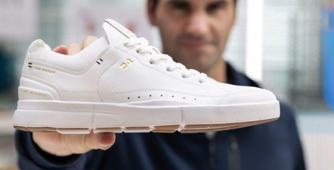 Roger Federer dévoile sa nouvelle chaussure «The Roger» conçu avec la marque On
