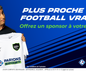 ParionsSport (FDJ) va sponsoriser 100 clubs de football amateurs (Appel à candidatures)