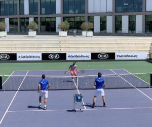 Tennis – Kia prolonge son partenariat avec Rafael Nadal