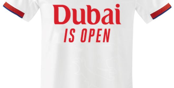 Sponsoring – Emirates affiche le message «Dubai is Open» sur le maillot de l'Olympique Lyonnais