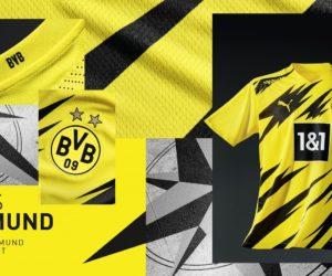 Puma dévoile le nouveau maillot domicile 2020-2021 du Borussia Dortmund