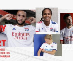 adidas dévoile les nouveaux maillots 2020-2021 de l'Olympique Lyonnais