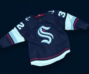 La nouvelle franchise NHL de Seattle dévoile son nom, son logo et son maillot («Seattle Kraken»)
