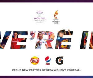 Pepsico nouveau sponsor de l'UEFA Euro Féminin et de l'UEFA Women's Champions League jusqu'en 2025