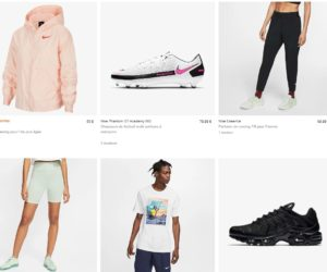 Bon Plan : Nike propose un code promotionnel de -25% valable jusqu'au 28 août