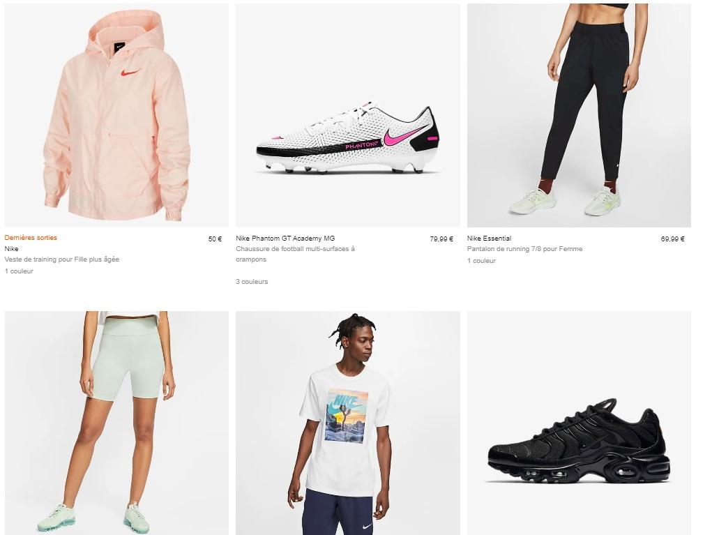 Bon Plan : Nike propose un code promotionnel de -25% valable ...