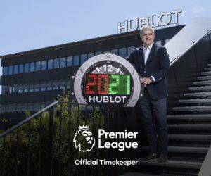 Hublot remplace Tag Heuer comme nouveau chronométreur officiel de la Premier League