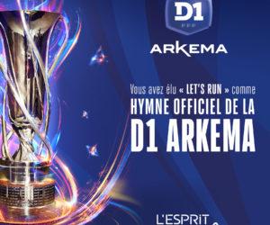L'agence Sixième Son réalise le nouvel hymne de la D1 Arkema (Let's Run)