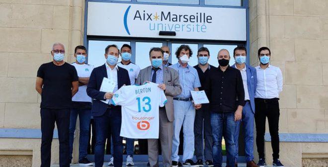 L'Olympique de Marseille signe un partenariat avec Aix-Marseille Université