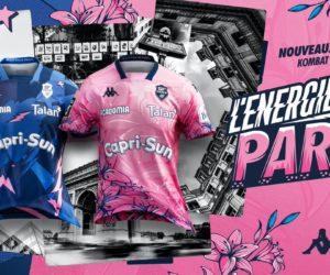 Rugby – Kappa dévoile les maillots 2020-2021 du Stade Français Paris