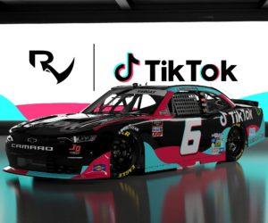 TikTok sponsor NASCAR du jeune pilote Ryan Vargas