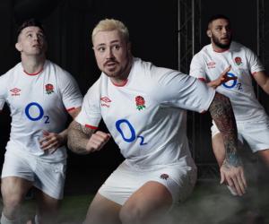 Rugby – Umbro dévoile les nouveaux maillots de l'équipe d'Angleterre
