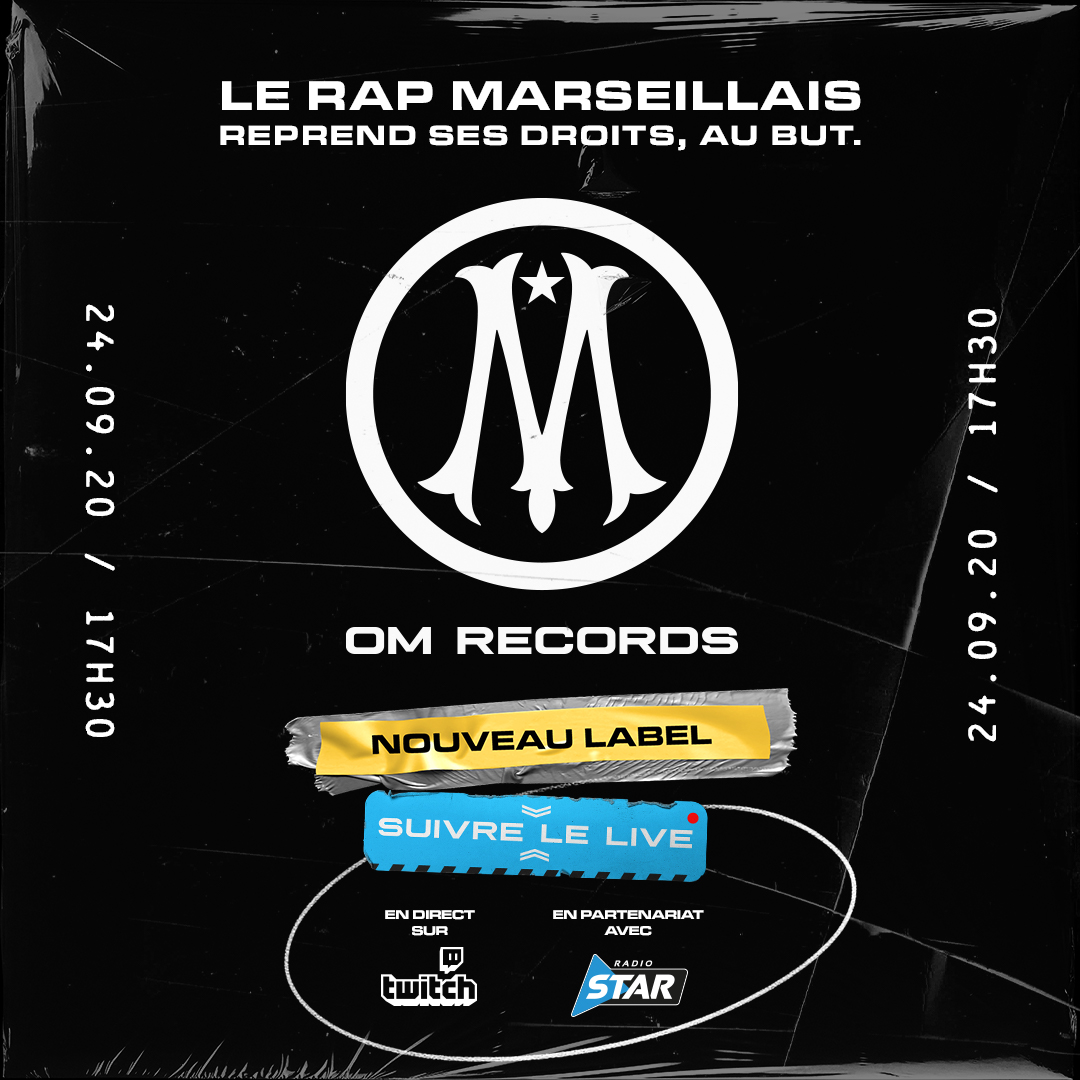 Olympique de Marseille : le club lance son label de rap,