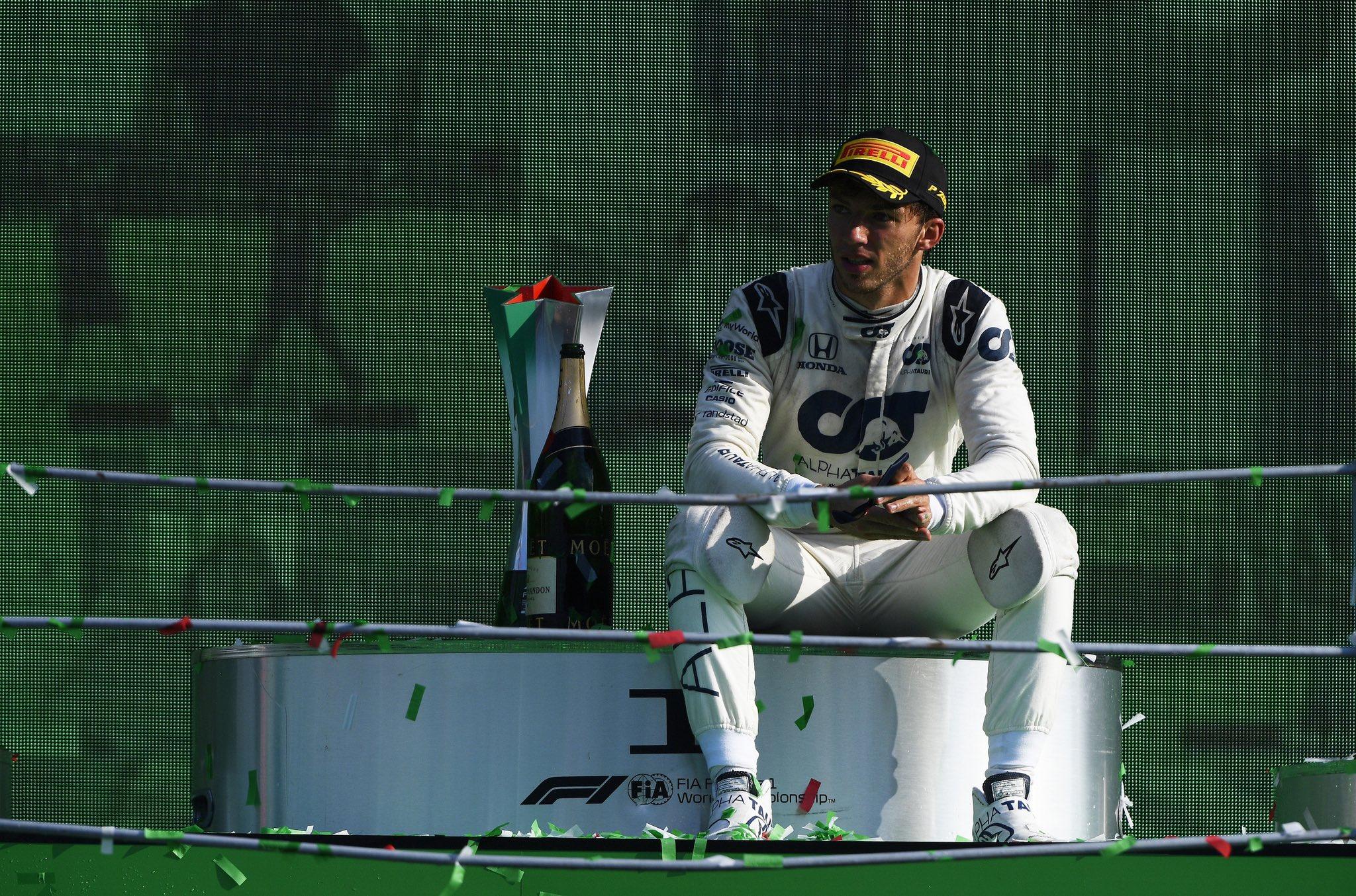 Quand Pierre Gasly, victorieux en F1, pilotait en Sarthe