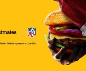 Postmates premier sponsor officiel de la NFL sur le segment de la livraison de repas