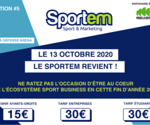 Le salon du marketing sportif SPORTEM 2020 le 13 octobre à Paris La Défense Arena (programme et tarifs)