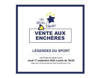 Vente aux enchères exceptionnelle d'une centaine de lots de sportifs pour l'association «Les Etoiles Filantes»