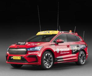 Tour de France 2020 – Le nouveau SUV 100% électrique de Skoda (ENYAQ iV) comme voiture rouge du Directeur Christian Prudhomme