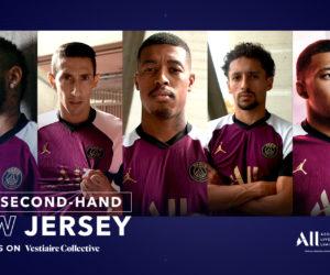 Activation – ALL offre le nouveau maillot Third Jordan porté par les joueurs du PSG contre Istanbul Basaksehir