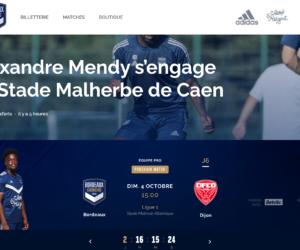 Digital – Le site des Girondins de Bordeaux fait peau neuve
