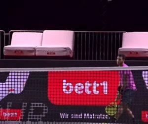 Activation – Des matelas de la marque bett1 en guise de sièges VIP au tournoi de tennis de Cologne