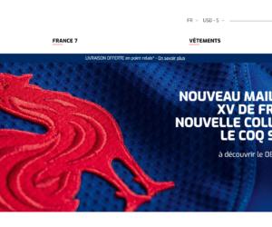 Oreca nouvel opérateur de la boutique en ligne de la Fédération Française de Rugby (FFR)