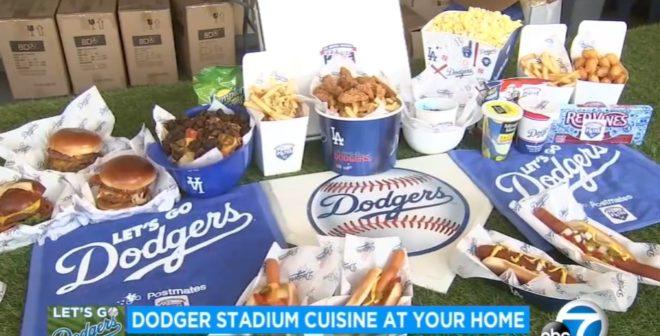 Fan Experience – Quand la bouffe de stade s'invite à l'extérieur (L'exemple des Dodgers et des Spurs)
