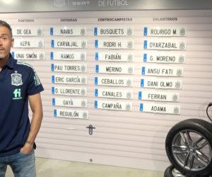 Activation – Seat met en scène l'annonce de la liste des joueurs espagnols retenus par Luis Enrique à l'aide de plaques d'immatriculation