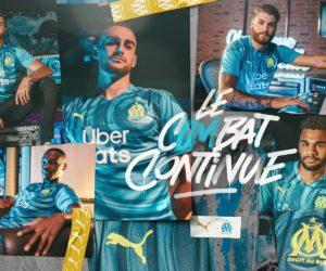 Puma dévoile un maillot Third «connecté» de l'Olympique de Marseille pour 2020-2021