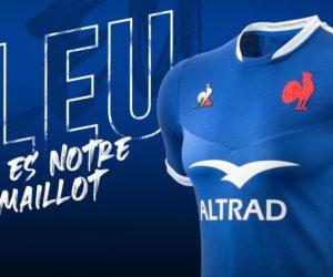 Rugby – Le Coq Sportif dévoile les nouveaux maillots du XV de France pour 2020-2021