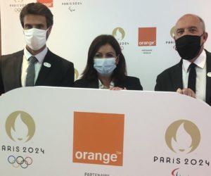 JO – Orange 3ème Partenaire Premium de Paris 2024