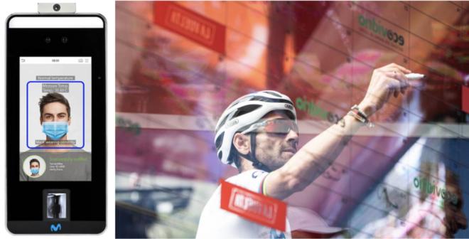 Cyclisme – La reconnaissance faciale pour les coureurs sur la Vuelta 2020 (Tour d'Espagne)