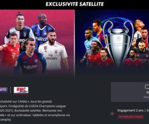 Bon Plan : Canal+, beIN SPORTS et RMC Sport à 25€/mois pendant 2 ans