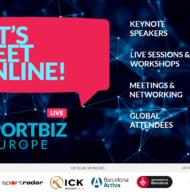 Participez à l'évènement «SPORTBIZ Europe» en direct et à distance les 28 et 29 octobre 2020