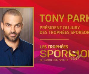 Tony Parker sera le Président du Jury des Trophées SPORSORA 2021