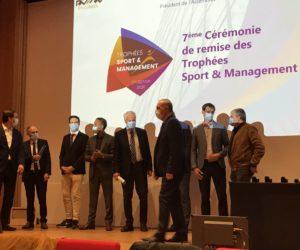 Le palmarès des Trophées Sport & Management 2020 (replay vidéo)
