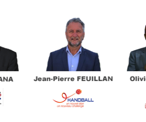 Le débat organisé entre les 3 candidats à la présidence de la FFHandball à suivre sur YouTube
