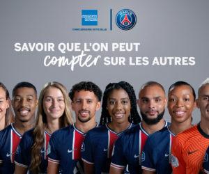 American Express signe son retour dans une publicité TV en France avec le PSG