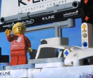 Vendée Globe 2020 – Le bateau «Initiatives-Coeur» (Samantha Davies) en version LEGO