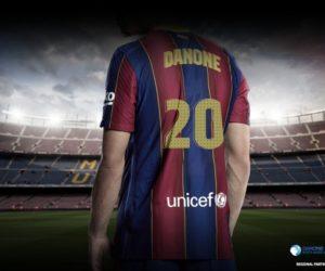 Danone nouveau partenaire régional du FC Barcelone aux Etats-Unis