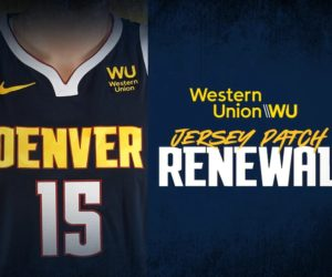 NBA – Western Union prolonge son sponsoring maillot des Denver Nuggets