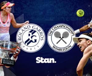 La nouvelle offre OTT sportive australienne «Stan» muscle son catalogue de droits avec Roland-Garros, Wimbledon et Rugby Australia