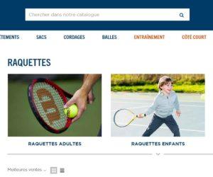Tennis – La FFT ouvre sa plateforme e-commerce aux boutiques de proximité frappées par les fermetures