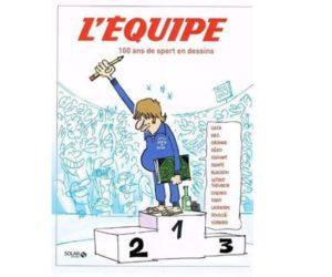 Livre – L'Equipe, 100 ans de sport en dessins