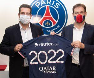 Qui est Reuter.com, le nouveau partenaire du PSG Handball présent sur le short ?