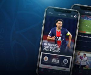 Le Paris Saint-Germain lance une nouvelle application