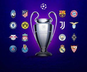 6 équipementiers se partagent les 16 équipes qualifiées pour les 1/8e de finale de l'UEFA Champions League 2021
